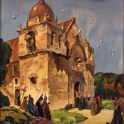 Untitled (The Carmel Mission), 1949